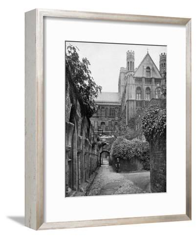 The Steps, Peterborough Cathedral, Cambridgeshire, 1924-1926- Francis & Co Frith-Framed Art Print