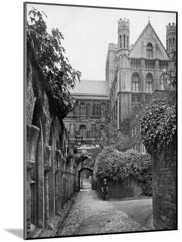 The Steps, Peterborough Cathedral, Cambridgeshire, 1924-1926- Francis & Co Frith-Mounted Giclee Print