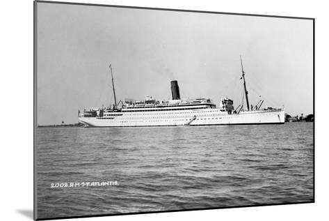 RMS Atlantis, C1929-C1952--Mounted Giclee Print