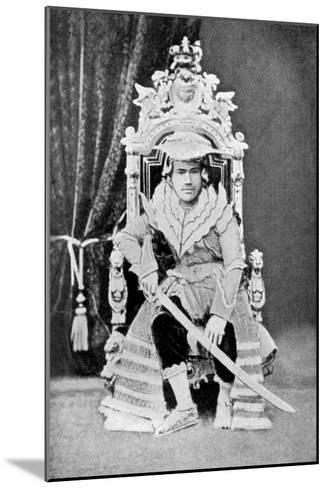 King Thibaw of Burma in Full Court Dress, C1900--Mounted Giclee Print