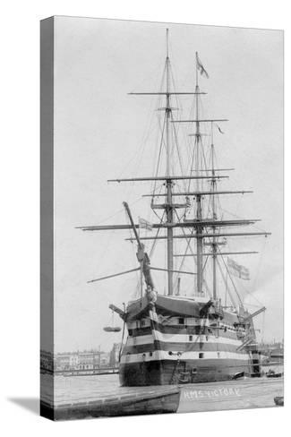 HMS Victory, Portsmouth, Hampshire, 20th Century--Stretched Canvas Print