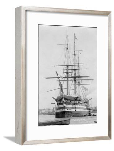 HMS Victory, Portsmouth, Hampshire, 20th Century--Framed Art Print