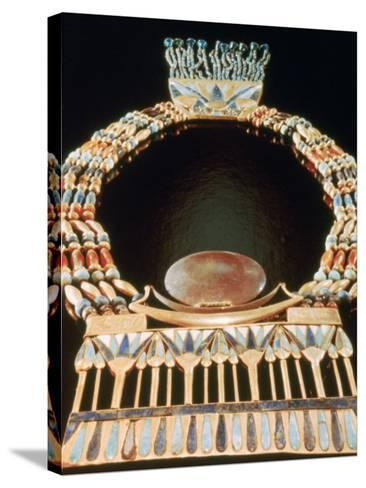 Pectoral from Tutankhamun's Tomb, 14th Century Bc--Stretched Canvas Print