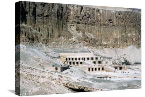 Mortuary Temple of Queen Hatshepsut, Dayr Al-Bahri, Egypt, C1457 Bc--Stretched Canvas Print