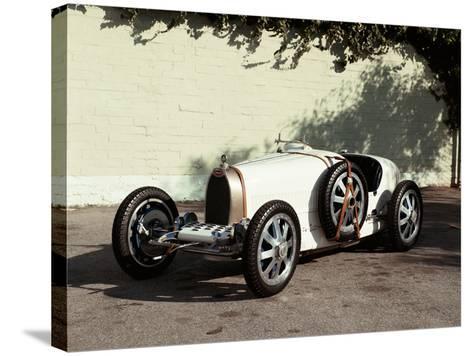 1927 Bugatti Type 37A Grand Prix--Stretched Canvas Print