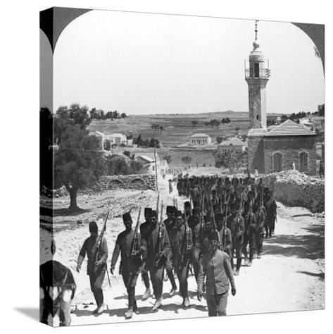 Defeated Turkish Soldiers, Palestine, World War I, C1917-C1918--Stretched Canvas Print