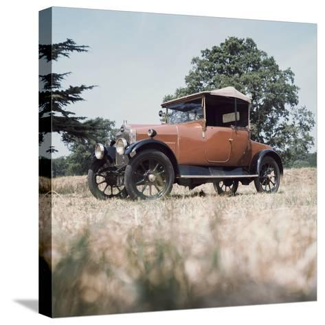 1923 Calcott 11.9Hp Car--Stretched Canvas Print