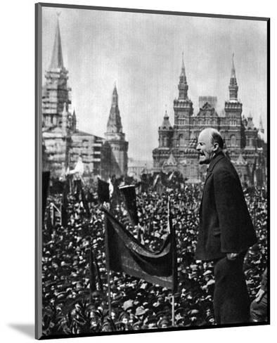 Vladimir Ilich Lenin, Russian Bolshevik Leader, Moscow, Russia, 1 May 1919--Mounted Giclee Print
