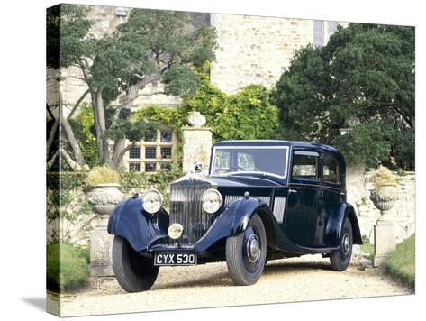 A 1935 Rolls-Royce 20/25--Stretched Canvas Print