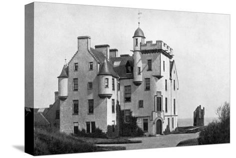 Keiss Castle, Caithness, Scotland, 1924-1926-Valentine & Sons-Stretched Canvas Print