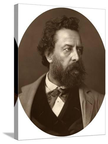 William Hepworth Dixon, Historian and Traveller, 1881--Stretched Canvas Print