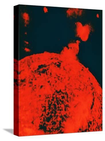 Solar Eruption--Stretched Canvas Print