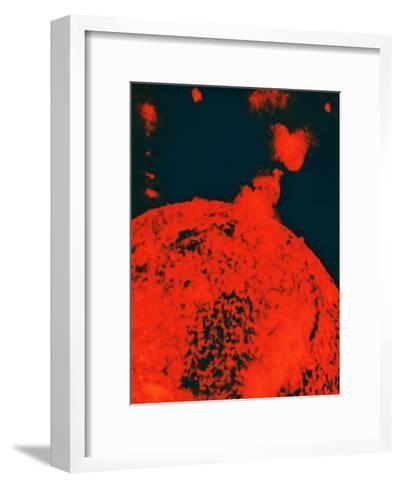 Solar Eruption--Framed Art Print
