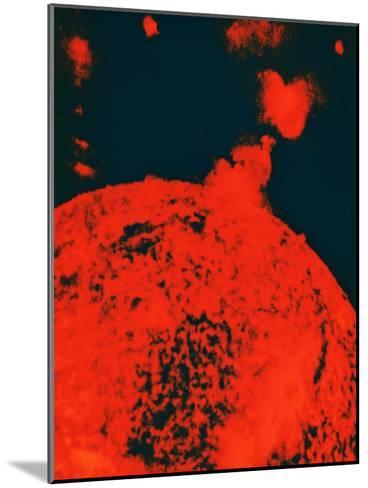 Solar Eruption--Mounted Giclee Print