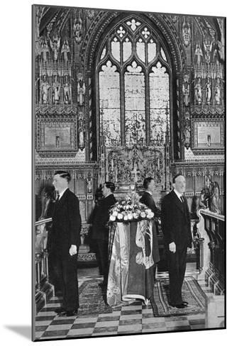 King George V Lying in State, Church of St Mary Magdalene, Sandringham, Norfolk, January 1936--Mounted Giclee Print