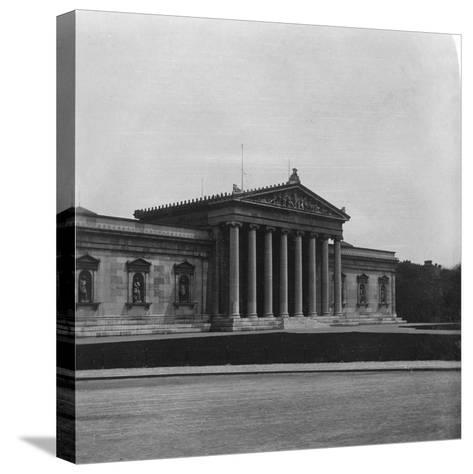 The Glyptothek, Munich, Germany, C1900s-Wurthle & Sons-Stretched Canvas Print