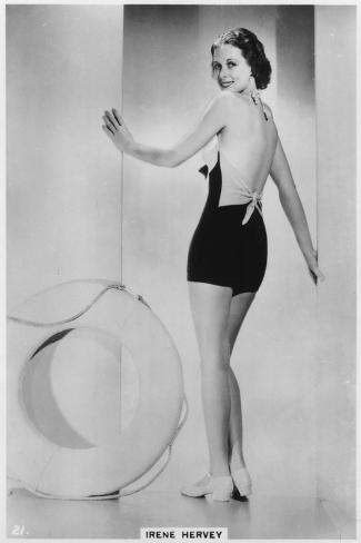 Irene Hervey, American Film Actress, C1938--Stretched Canvas Print
