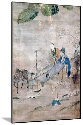 Three Sages of T'Ai Chi, Chinese, 17th or 18th Century--Mounted Giclee Print