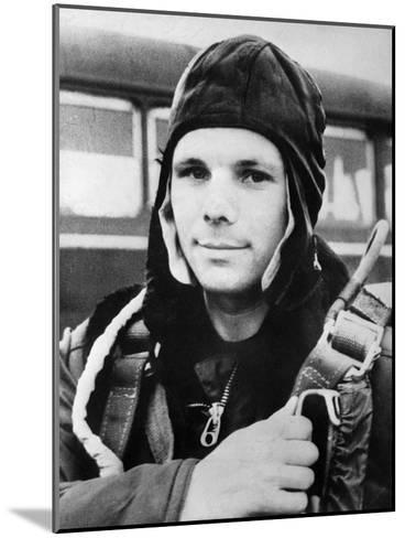 Yuri Gagarin, Russian Cosmonaut, 1961--Mounted Giclee Print