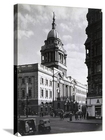 Old Bailey, Central Criminal Court, London, C1941--Stretched Canvas Print