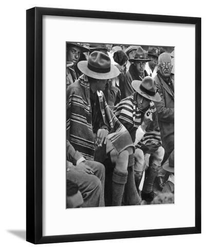 The Prince of Wales with the Welsh Scouts, 1926--Framed Art Print