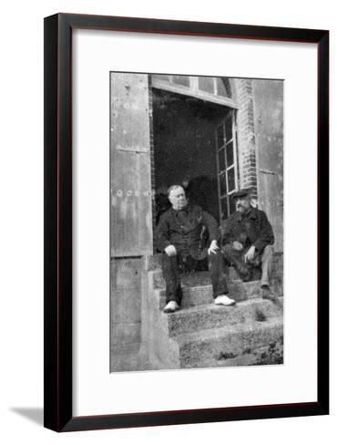 Andre Antoine, French Actor, Theatre Manager and Film Director, 1935--Framed Art Print