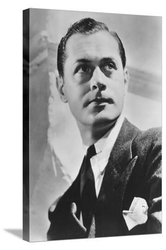 Robert Montgomery (1904-198), American Actor and Director, 20th Century--Stretched Canvas Print