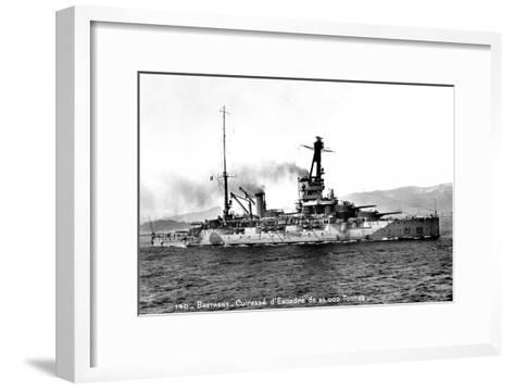 Bretagne' French Dreadnought of 25,000 Tons, C1915-1940--Framed Art Print