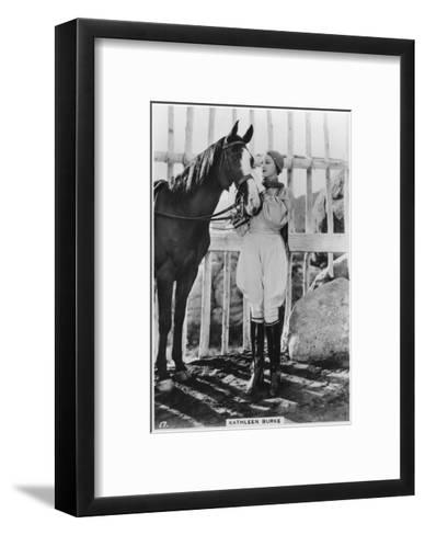 Kathleen Burke, American Film Actress, C1938--Framed Art Print