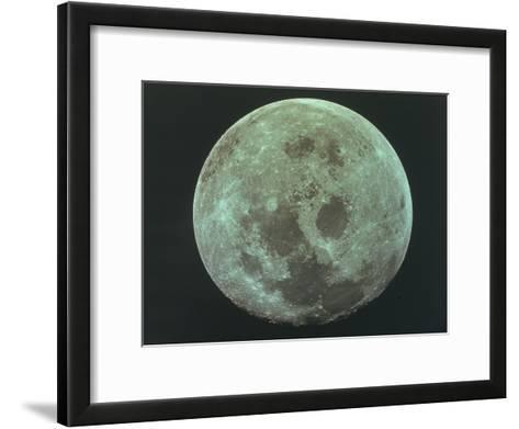 Front Side of the Moon, 22 July 1969--Framed Art Print