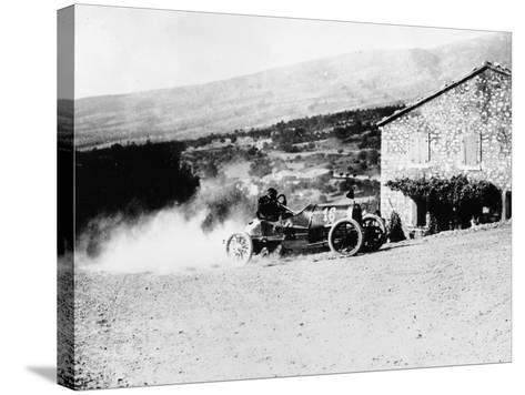 A Rolland-Pilain During the Mont Ventoux Hill Climb, Provence, France, 1909--Stretched Canvas Print