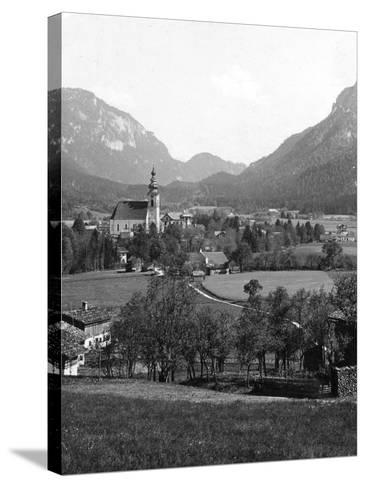 Bad Reichenhall and Grossgmain, Germany and Austria, C1900s-Wurthle & Sons-Stretched Canvas Print