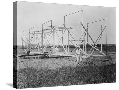Karl Guthe Jansky, American Physicist and Radio Engineer, C1940--Stretched Canvas Print