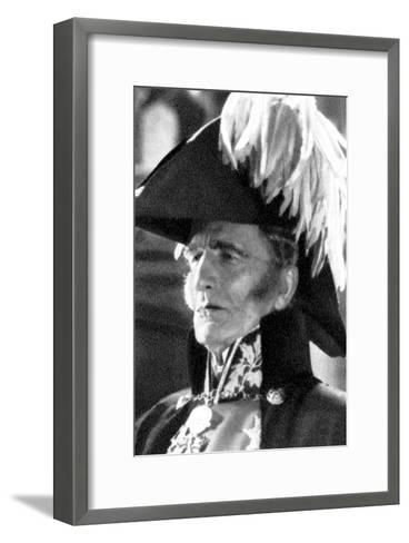 Sir Aubrey Smith, English Actor and Cricketer, 1934-1935--Framed Art Print