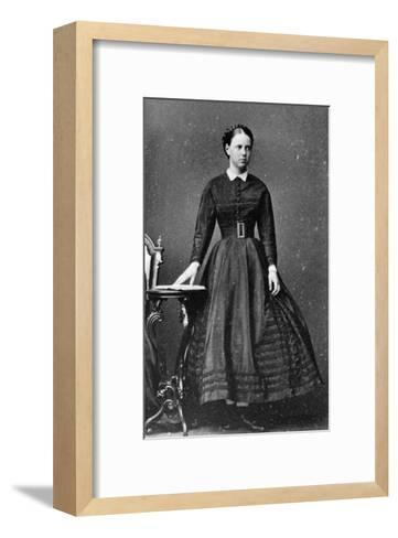 Grand Duchess Maria Alexandrovna of Russia, C1864-C1868--Framed Art Print