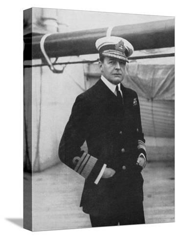 Admiral David Beatty (1871-193), British Naval Commander, World War I, 1914-1918--Stretched Canvas Print