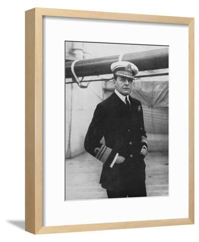 Admiral David Beatty (1871-193), British Naval Commander, World War I, 1914-1918--Framed Art Print