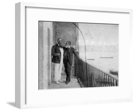 Paul Deroulede, French Author and Politician and Jean Mounet-Sully, French Actor, 1899--Framed Art Print