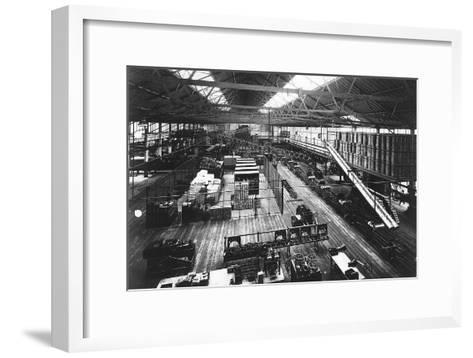 Part of the Production Line at Ford's Highland Park Factory, Detroit, Michigan, USA, C1914--Framed Art Print
