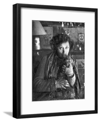 Collette, French Novelist--Framed Art Print