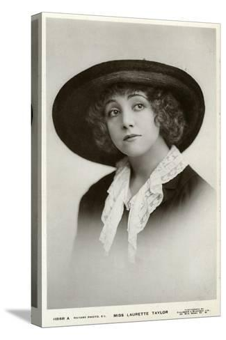 Laurette Taylor, American Actress, C1905-C1919-Foulsham and Banfield-Stretched Canvas Print
