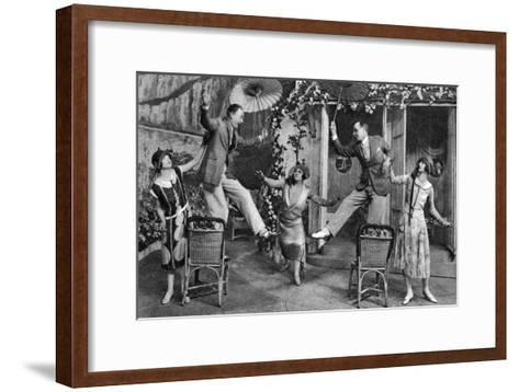 George Grossmith in No, No, Nanette!, Palace Theatre, London, C1926--Framed Art Print