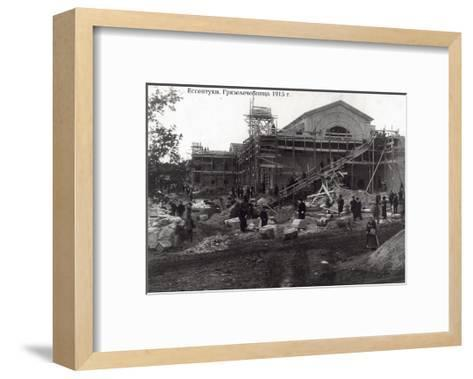 The Clinic of Balneotherapy, Yessentuki, Russia, 1915--Framed Art Print