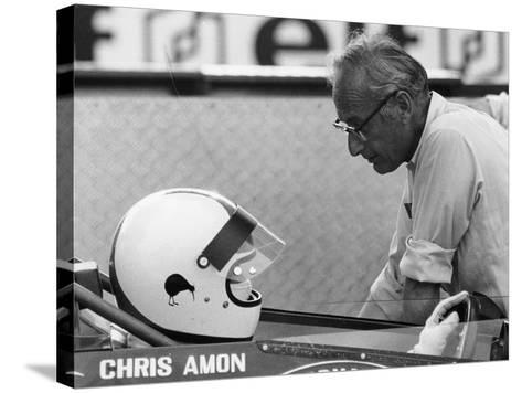 Chris Amon (On the Lef) and David Yorke, 1970S--Stretched Canvas Print