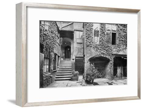 The Strangers' Hall, Norwich, Norfolk, 1924-1926- Francis & Co Frith-Framed Art Print