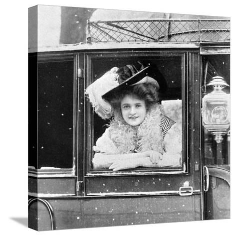 Billie Burke (1885-197), American Actress, 1908-1909-Alfred & Walery Ellis-Stretched Canvas Print