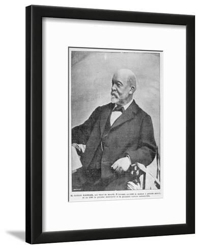 Gottlieb Daimler, German Industrial Pioneer, 1900--Framed Art Print