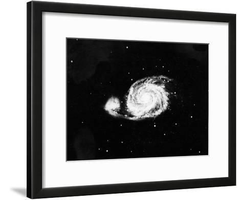 Spiral Galaxy (M5) in Canes Venatici, 1910--Framed Art Print