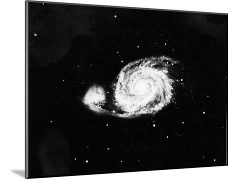 Spiral Galaxy (M5) in Canes Venatici, 1910--Mounted Giclee Print