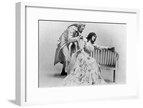 Julia Neilson and Fred Terry in the Scarlet Pimpernel, C1905- Ellis & Walery-Framed Art Print
